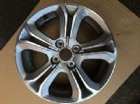 "2010 PEUGEOT 208 HDI GENUINE OEM 16"" 5 TWIN  SPOKE ALLOY WHEEL 9673773677"